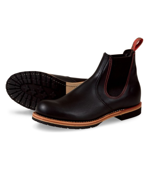 Red Wing Shoes 2918 Chelsea Rancher Black