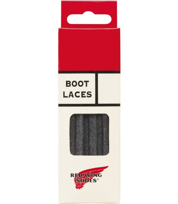 Red Wing 97155 48inch Black Flat Waxe Lace