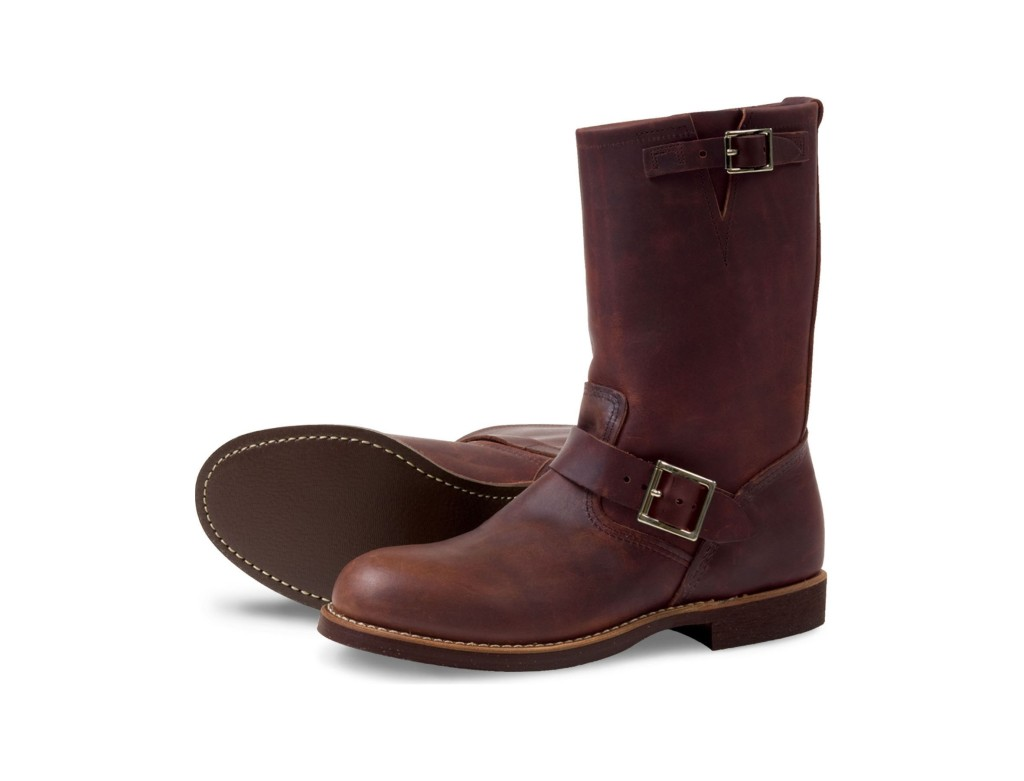 Red Wing Style 2991 Engineer Amber