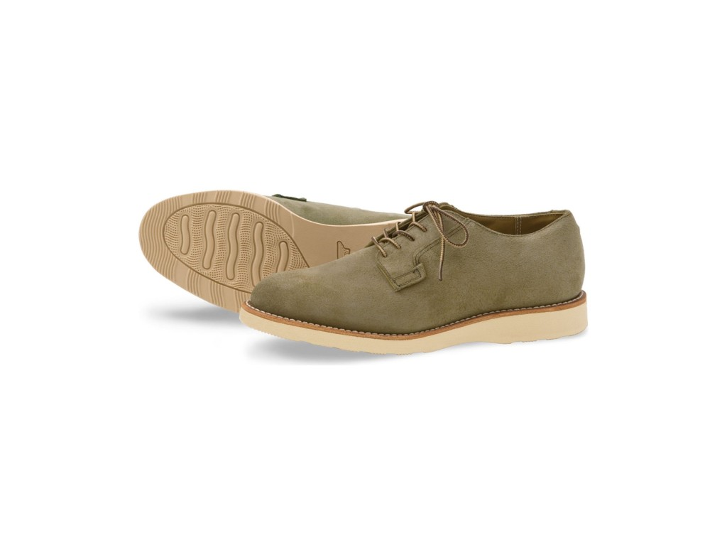 Red Wing Style 3104 Postman Oxford Olive Mohave