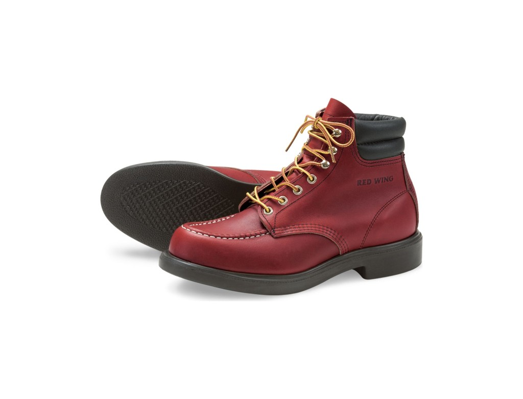 Red Wing Shoes 8804 Frankfurter Moc Toe Oro Russet Portage