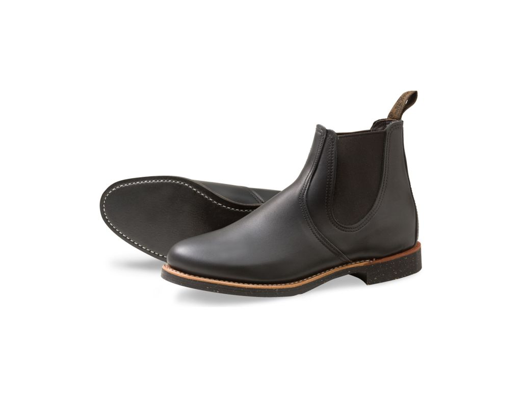 Red Wing Style 8200 Chelsea Rancher Black