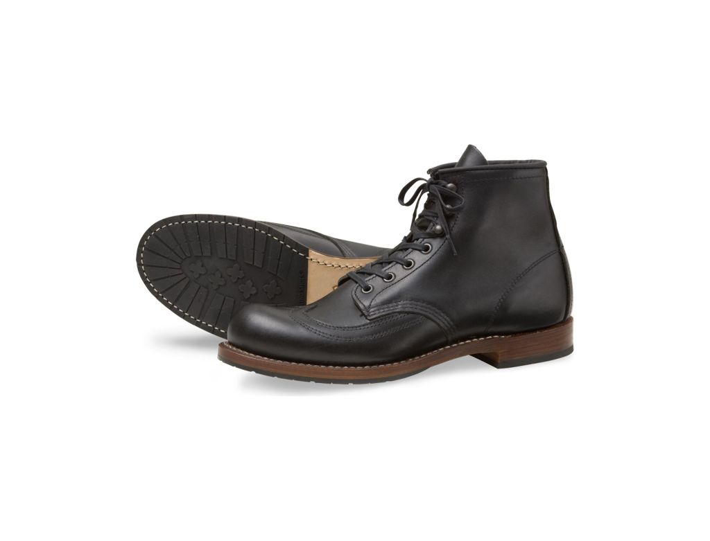 Red Wing Style 9050 Beckman Wingtip Black Featherstone