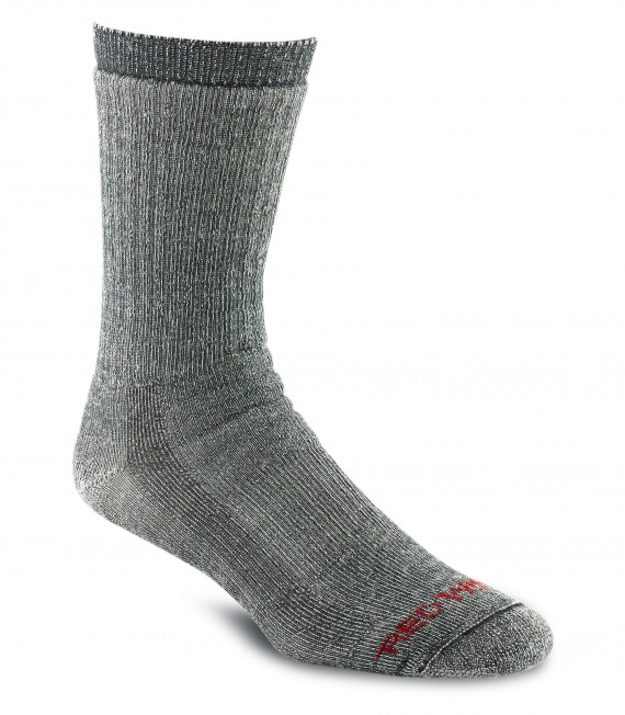 Red Wing_Shoes_97165_Merino_Wool_Sock_Charcoal