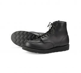 Red-Wing-Shoe-Store-Frankfurt-8137-Moc-toe-Black-chrome