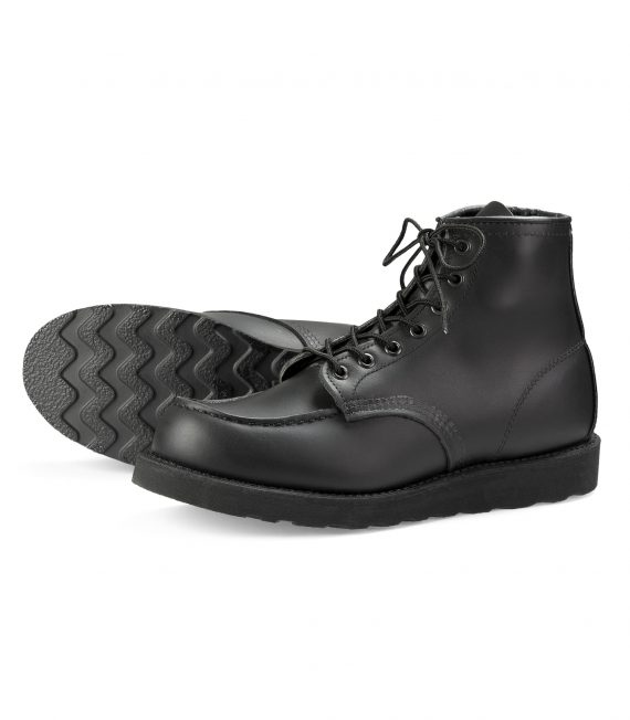 Red-Wing-Shoe-Store-Frankfurt-8137-Moc-toe-Black-chrome