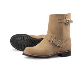 Red-Wing-Shoe-Store-Frankfurt-3358-Short-Engineer-Sand-Mohave